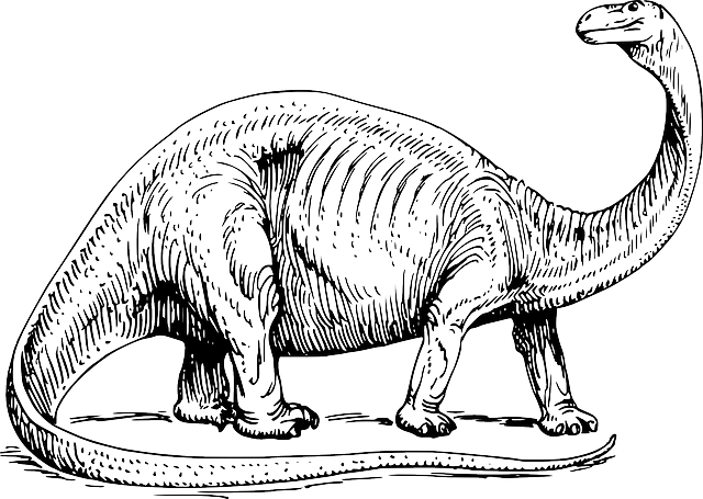 dinosaur images free vector graphic brontosaurus prehistoric dinosaur dinosaur images