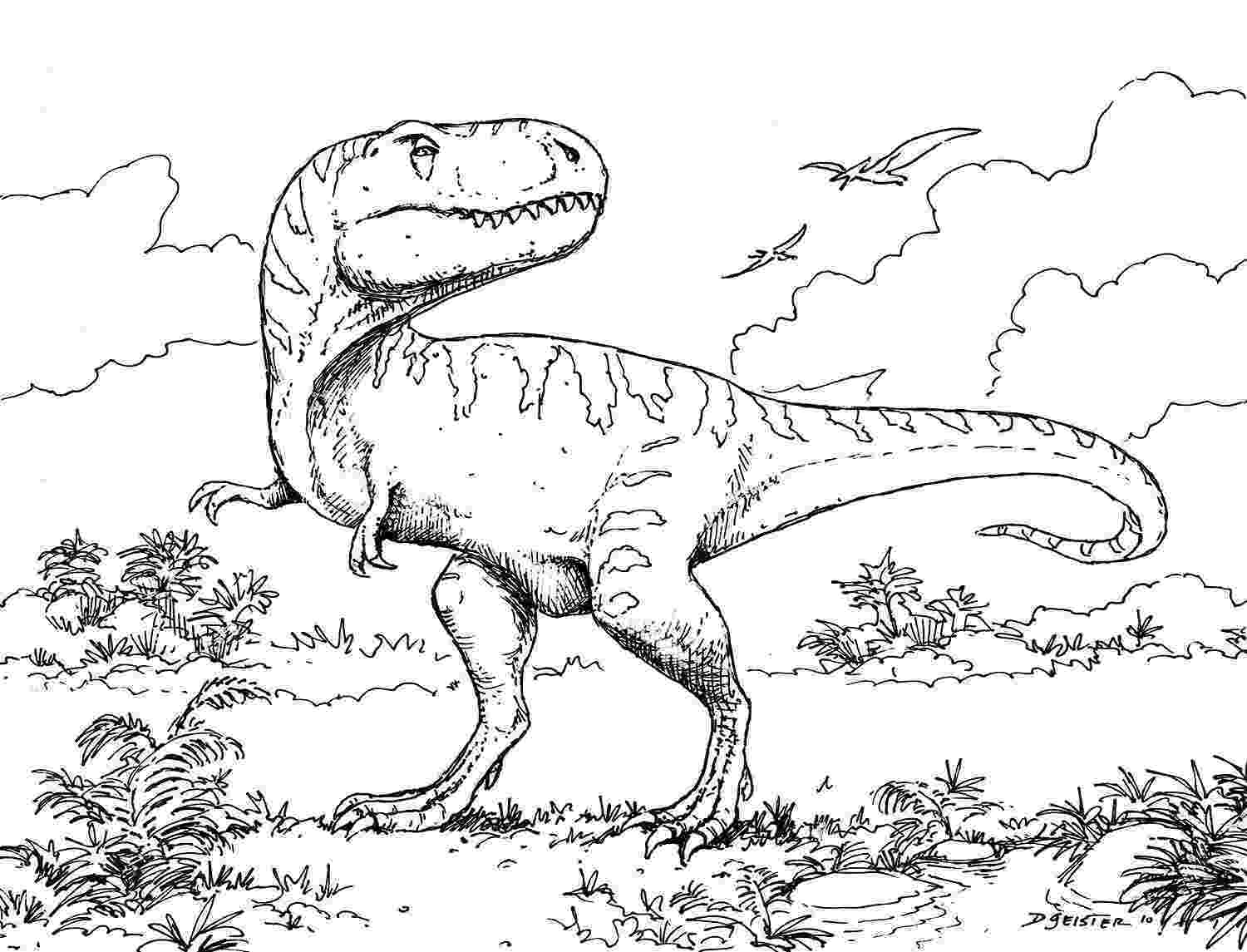 dinosaurs to print printable dinosaur coloring pages for kids cool2bkids dinosaurs print to
