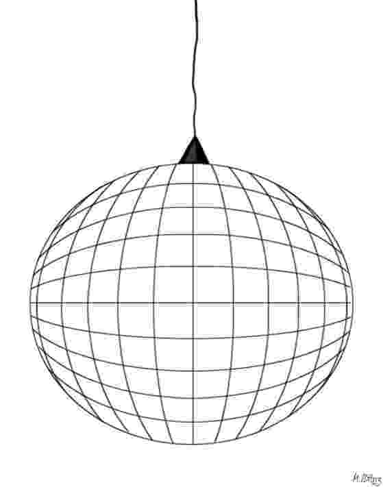 disco ball coloring page disco ball drawing at getdrawingscom free for personal ball coloring disco page