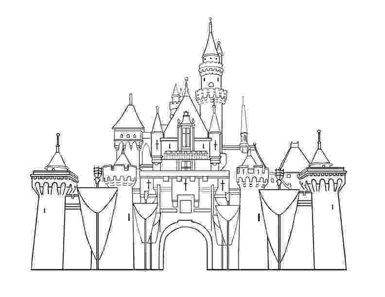 disney castle coloring pages cinderella coloring pages to print castle pages coloring disney
