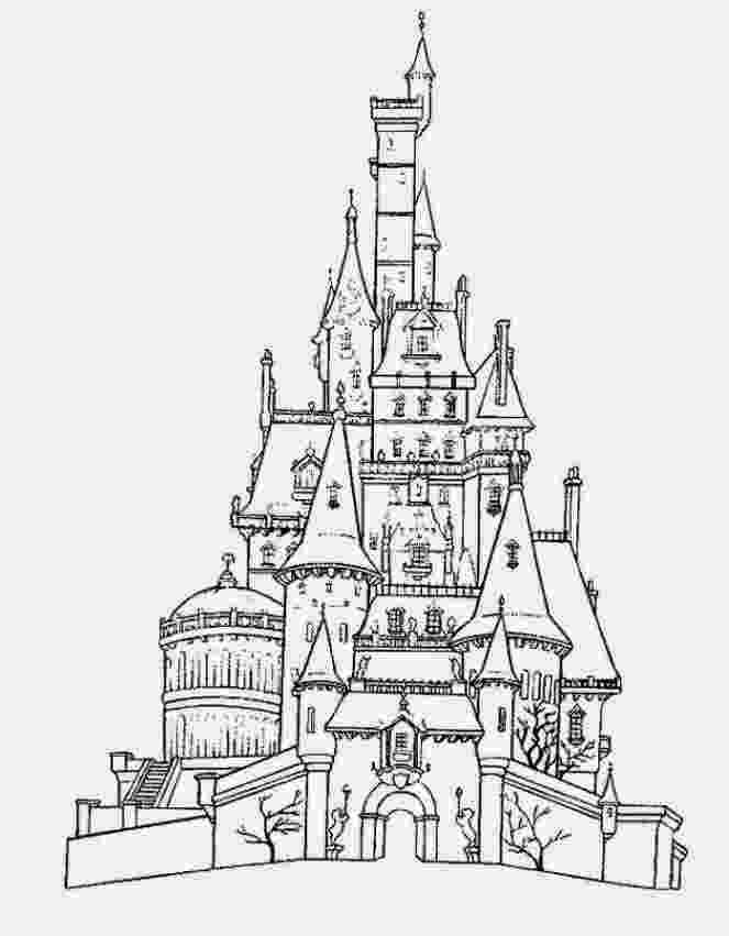 disney castle coloring pages disney castle lineart by bloomyliahona on deviantart castle coloring disney pages
