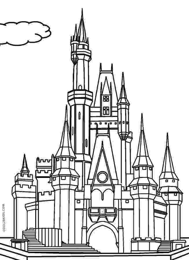 disney castle coloring pages disney princess castle coloring pages to kids disney pages coloring castle