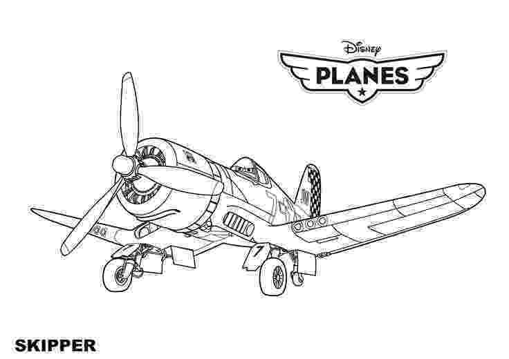 disney planes disney planes coloring pages skipper airplane coloring planes disney