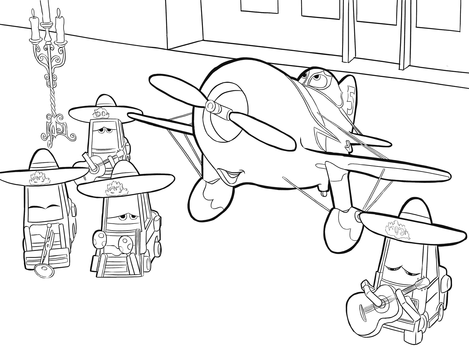 disney planes ripslinger free colouring pages planes disney