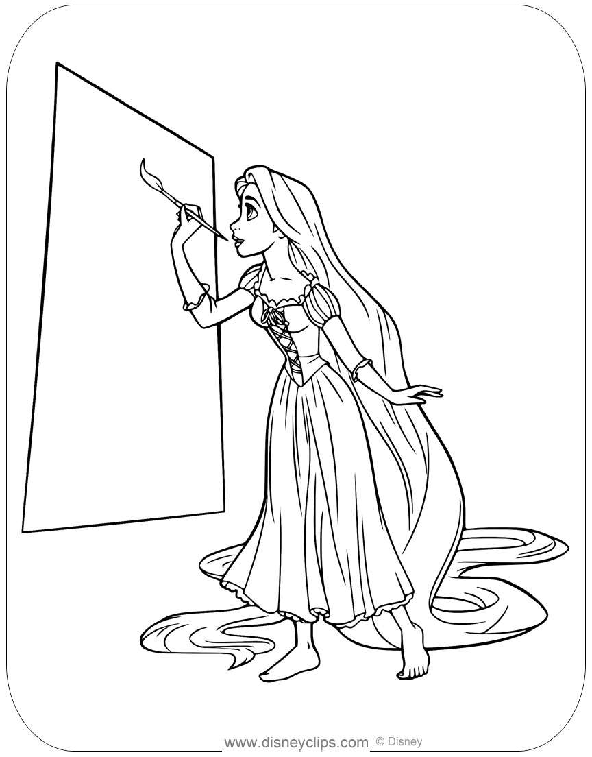 disney tangled coloring pages disney39s tangled coloring pages 2 disneyclipscom disney tangled pages coloring