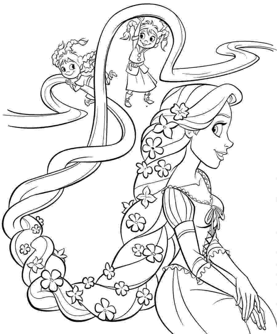 disney tangled coloring pages free printable tangled coloring pages for kids cool2bkids pages coloring tangled disney