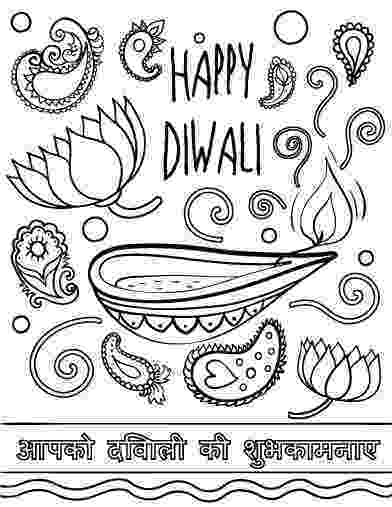 diwali coloring pages images happy diwali coloring page free printable coloring pages images coloring diwali pages