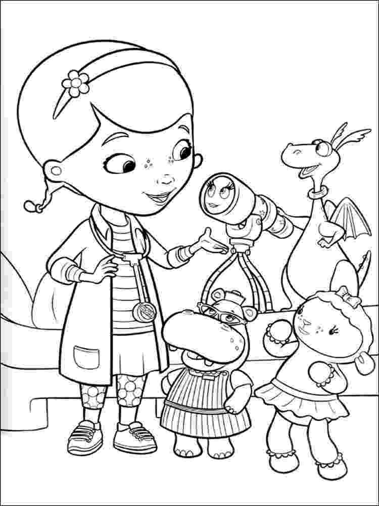 doc mcstuffins printable coloring pages doc mcstuffins coloring pages free printable doc coloring mcstuffins pages printable doc