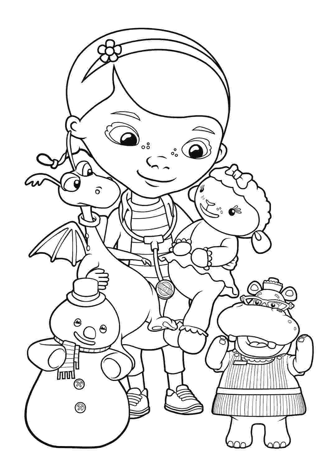 doc mcstuffins printable coloring pages doc mcstuffins coloring pages to download and print for free doc coloring printable pages mcstuffins