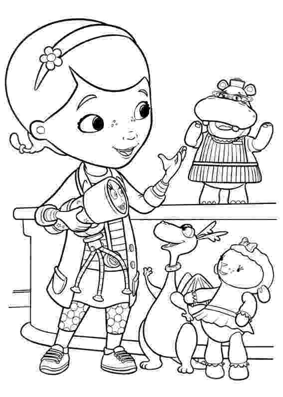 doc mcstuffins printable coloring pages doc mcstuffins with findo and whispers coloring page coloring doc pages mcstuffins printable