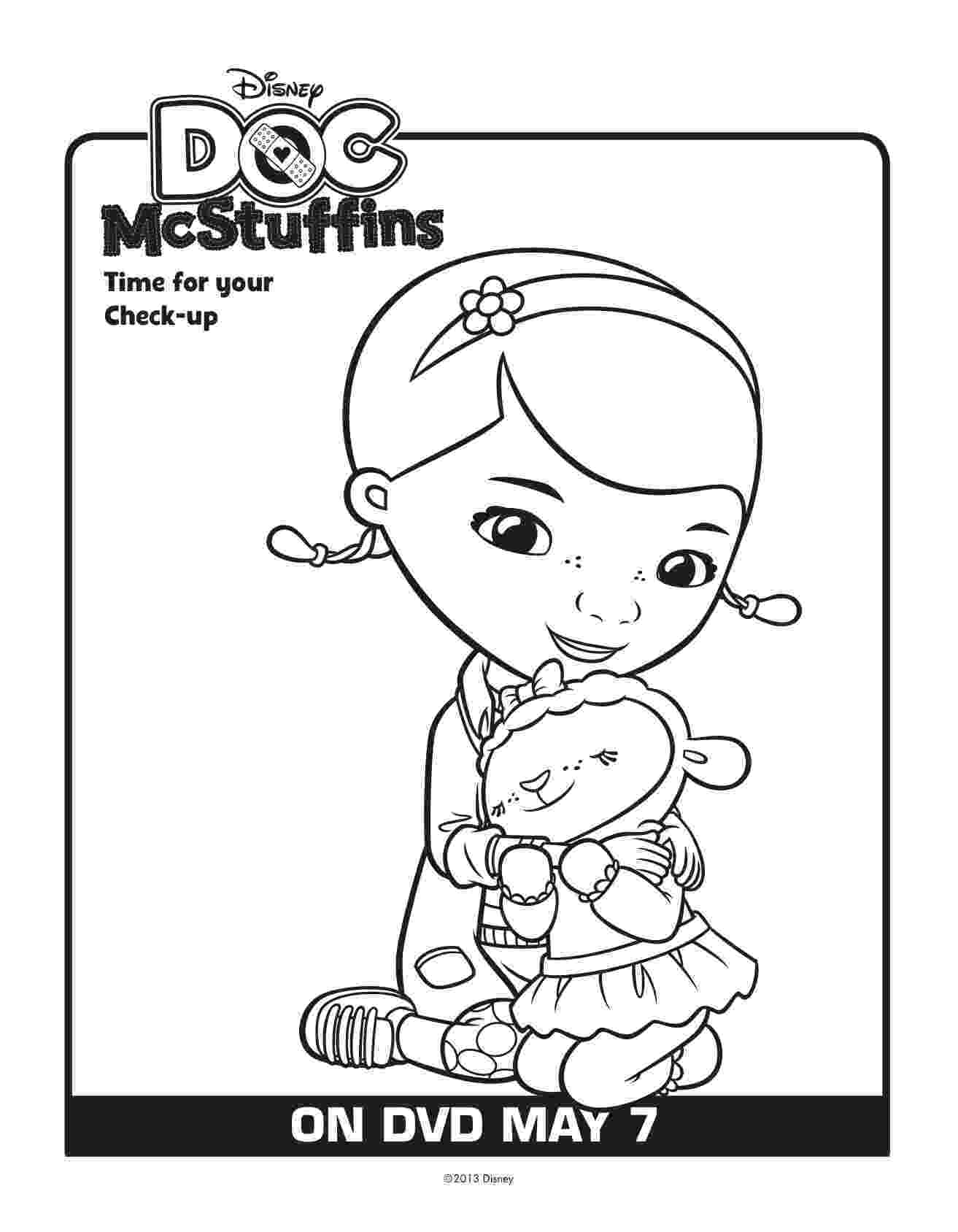 doc mcstuffins printable coloring pages free doc mcstuffins printables download here lady and pages doc mcstuffins printable coloring