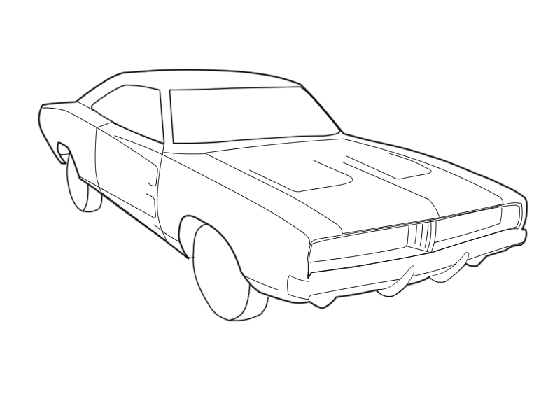 dodge charger coloring sheets dodge charger coloring page at getcoloringscom free sheets dodge coloring charger