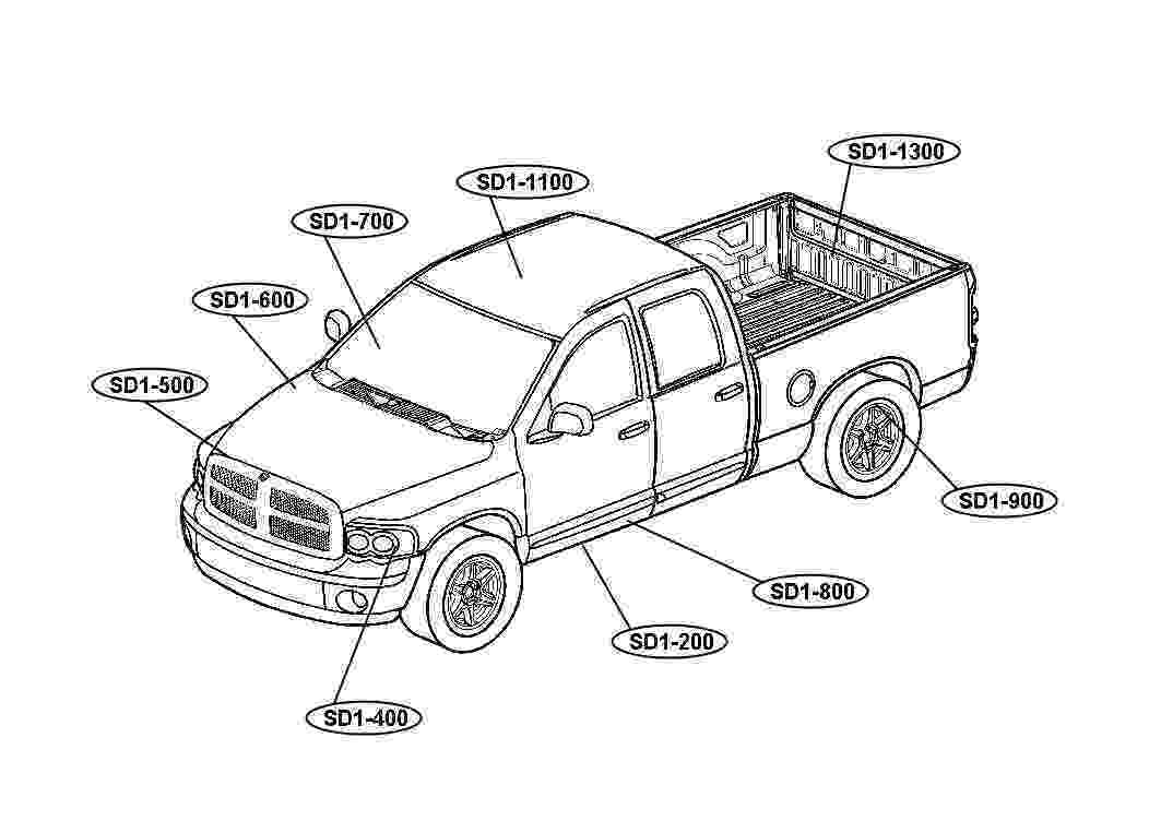dodge ram truck coloring pages gmc truck coloring pages at getcoloringscom free dodge pages coloring truck ram
