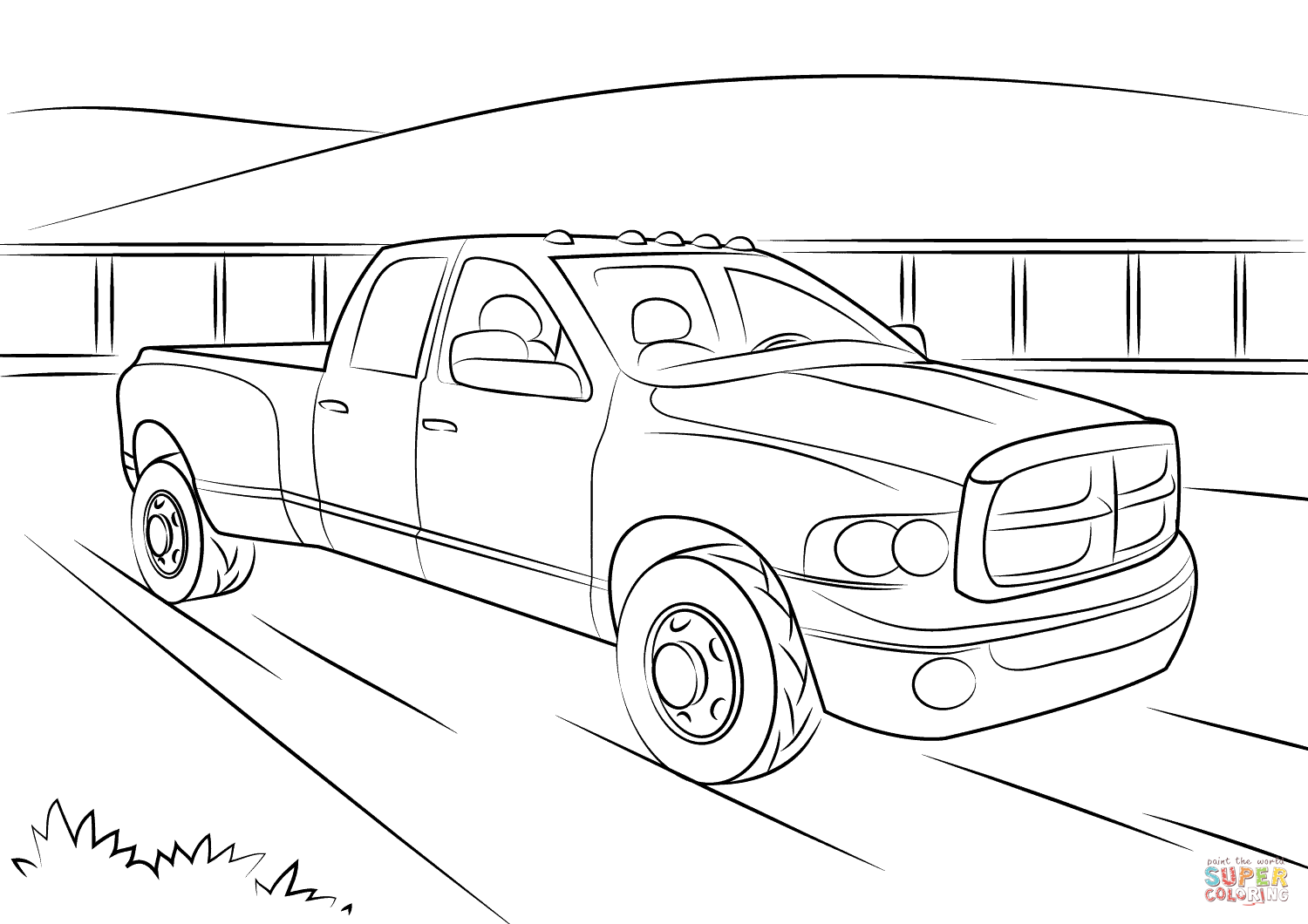 dodge ram truck coloring pages related image children kids39 things to make crafts coloring pages dodge ram truck