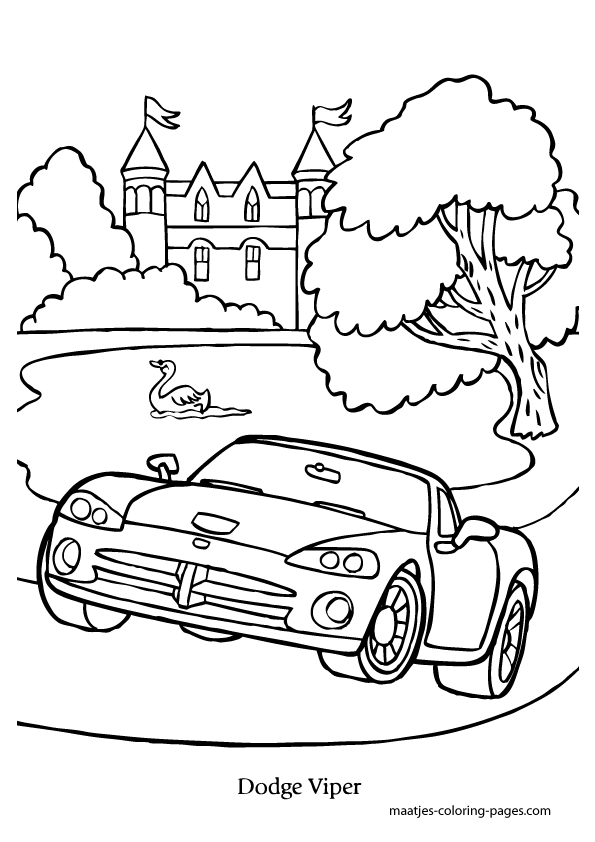 dodge viper coloring sheets dodge viper drawing at getdrawingscom free for personal dodge coloring sheets viper
