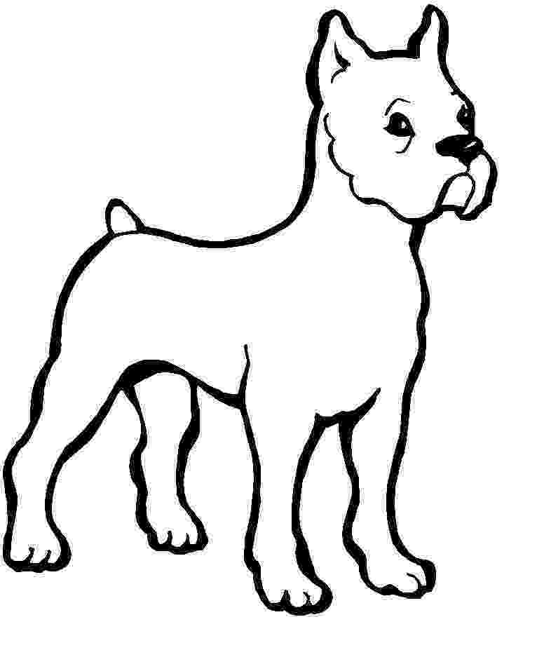 dog images to color free printable dog coloring pages for kids color dog to images