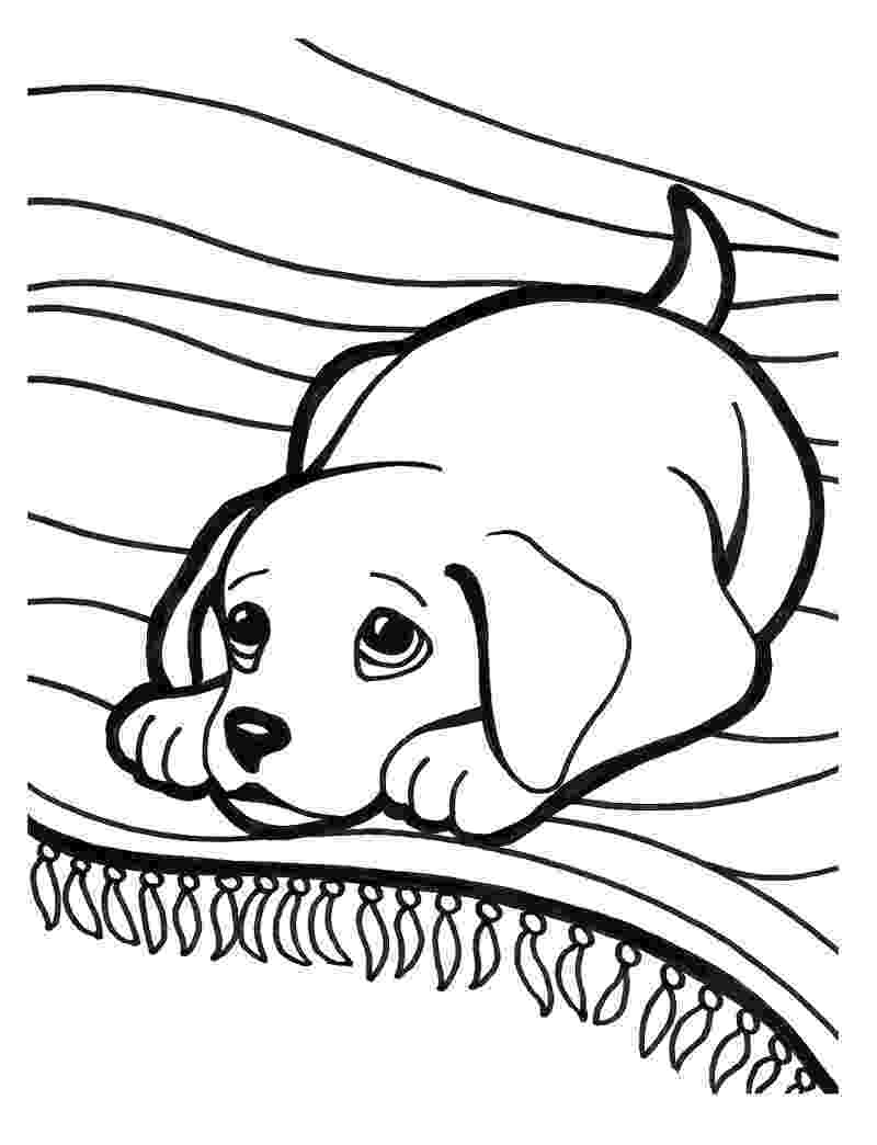 dogs to color kleurplaten dieren tekeningen dieren honden hondjes puppys color dogs to