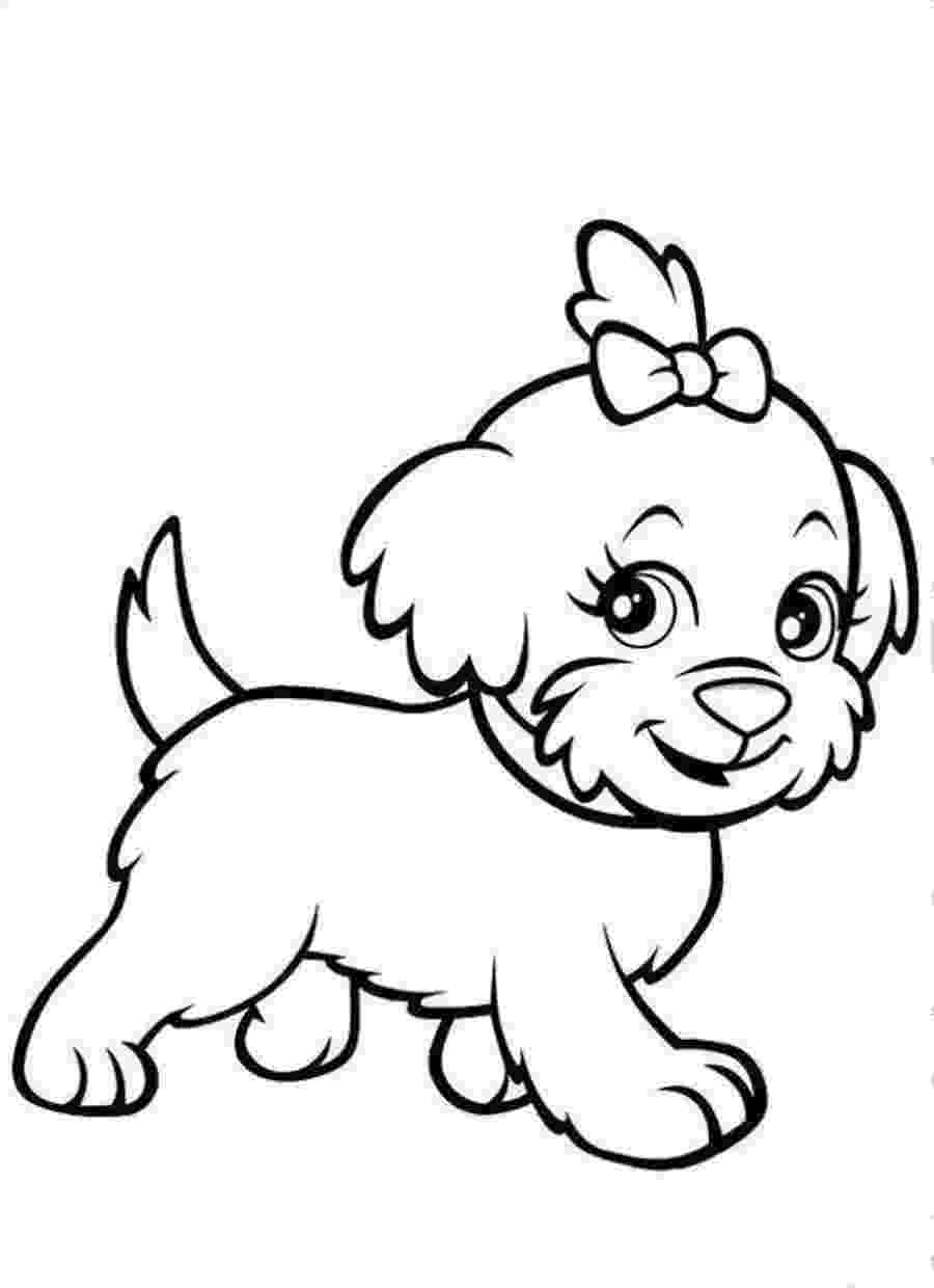 dogs to color printable puppy coloring pages for kids cool2bkids to dogs color