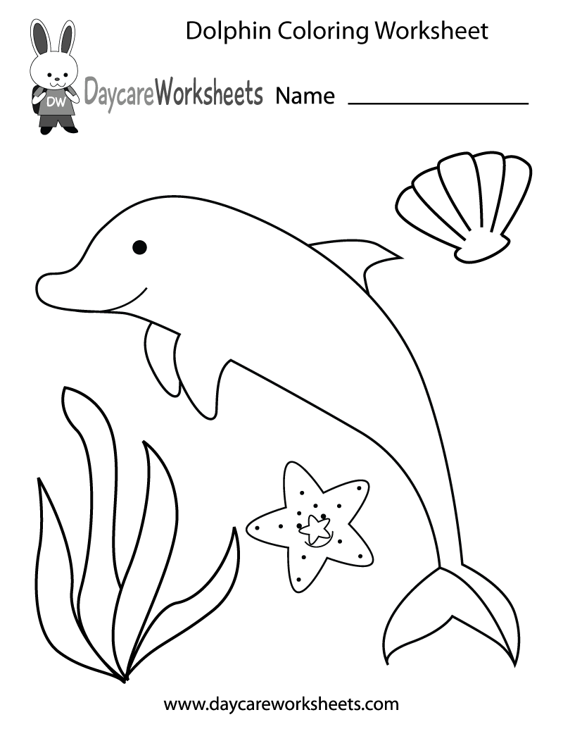 dolphin printables free preschool dolphin coloring worksheet dolphin printables