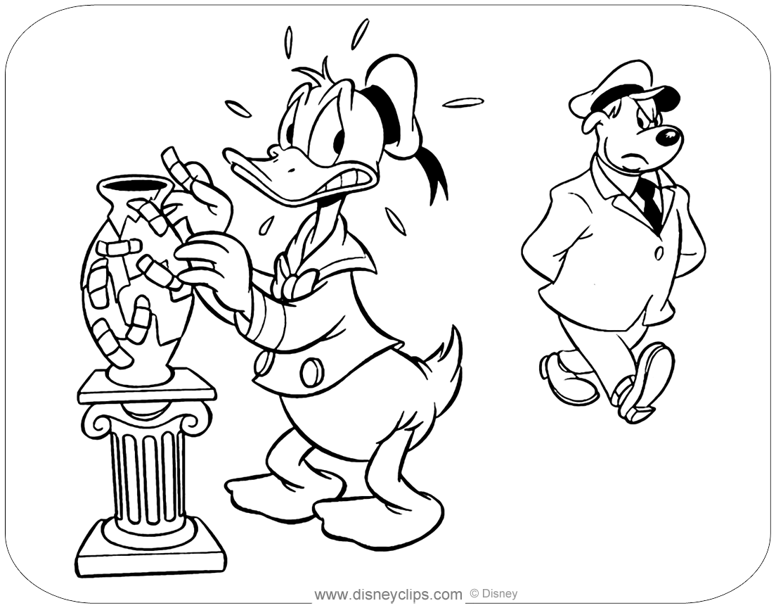 donald duck images for colouring donald duck coloring pages disney39s world of wonders colouring for donald duck images