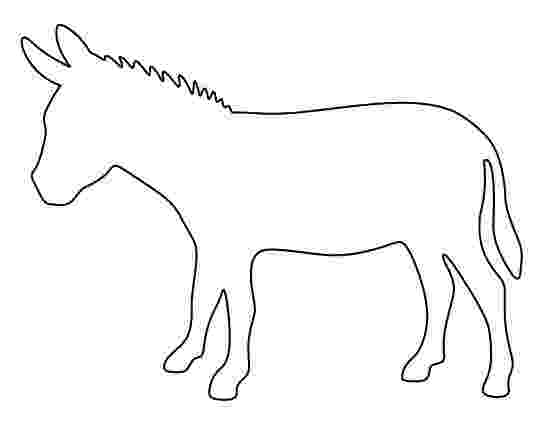 donkey templates free pin by muse printables on printable patterns at templates free donkey