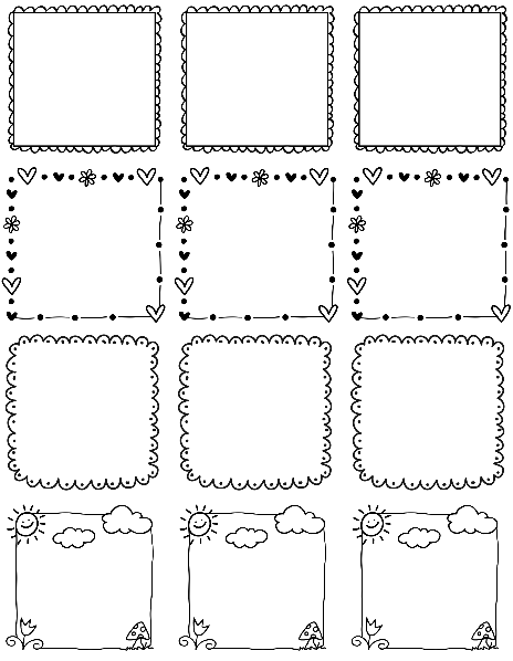 doodle art free printables cn39s drawing candy sweet january 2013 free printables doodle art