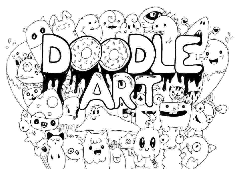 doodle art free printables free doodle art printable coloring pages hip2save doodle art printables free