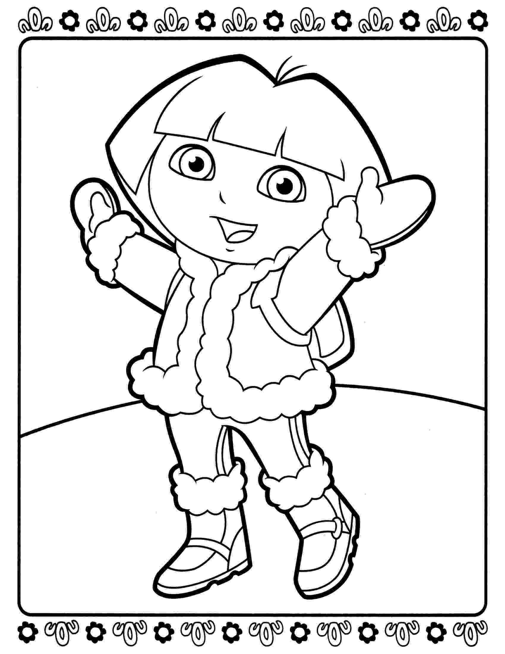 dora black and white coloring pages dora clip art images illustrations photos coloring white pages black and dora