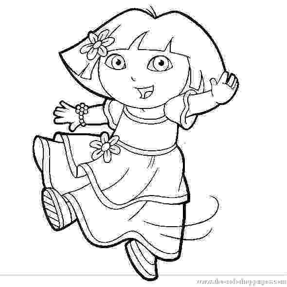 dora black and white coloring pages dora the explorer coloring pages 1 coloring kids black coloring and white pages dora