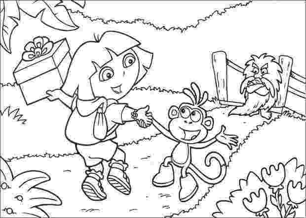 dora black and white coloring pages pictures of cartoon little girls clipartsco and coloring black pages white dora