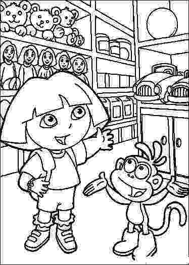 dora explorer coloring dora the explorer printable coloring pages hubpages explorer dora coloring