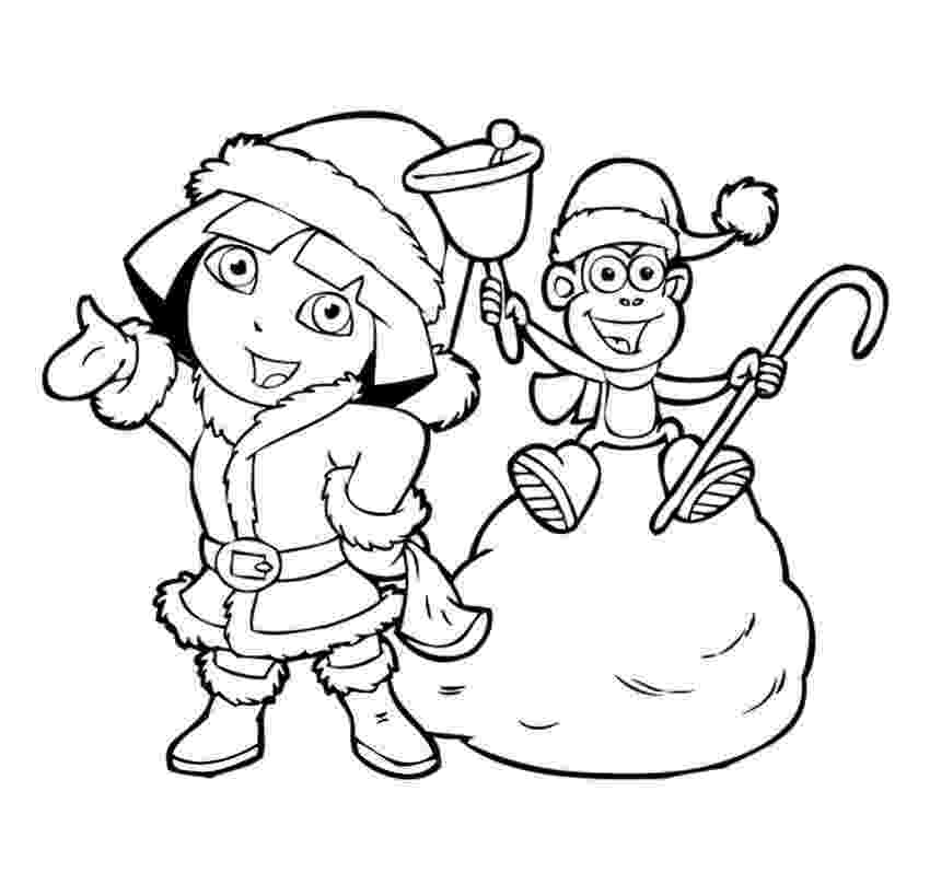dora the explorer coloring pages free kids coloring pages dora the free explorer pages coloring dora