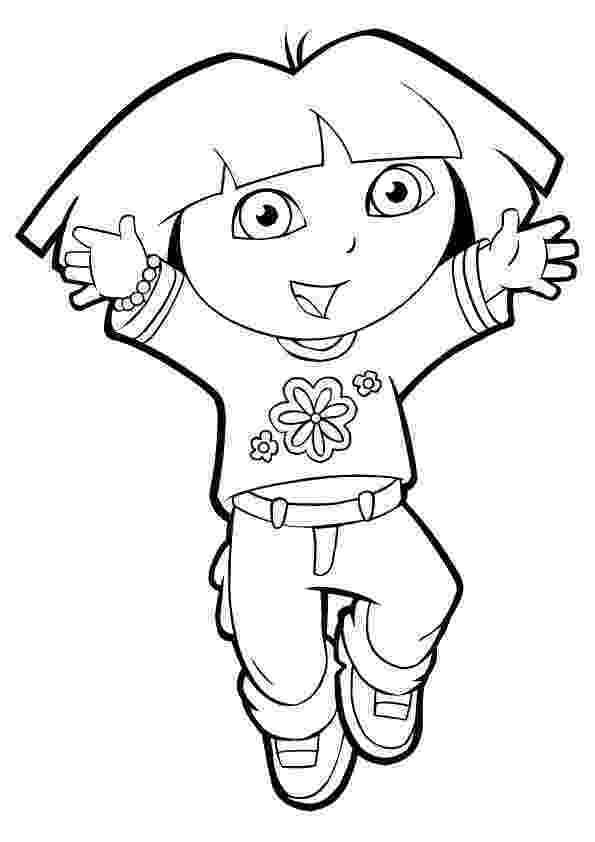 dora the explorer pictures to print free dora and boots coloring pages to download and print for free to free print the explorer dora pictures