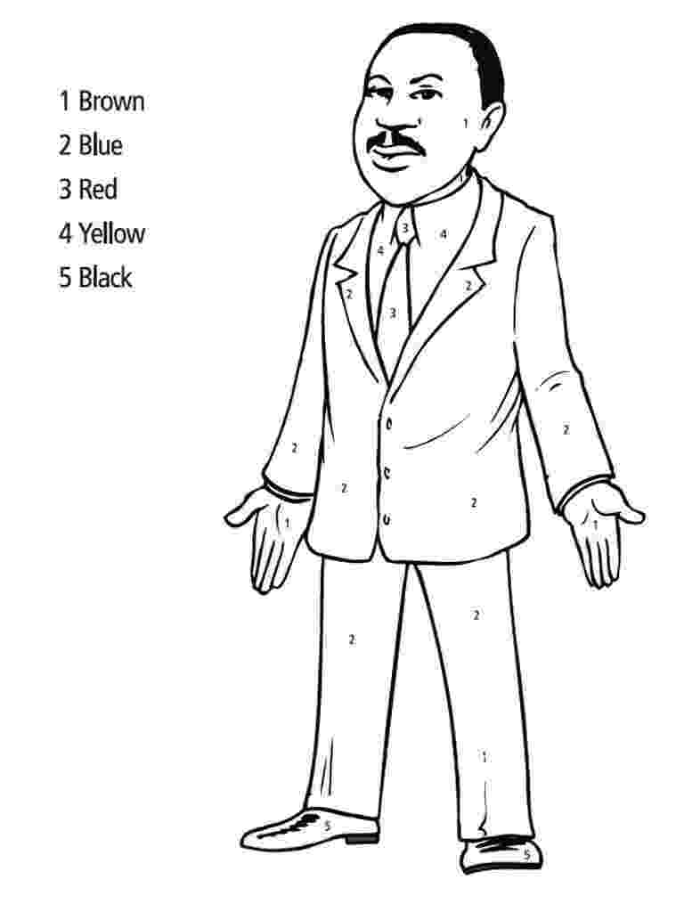 dr king coloring pages printable free printable martin luther king jr day mlk day dr coloring printable king pages
