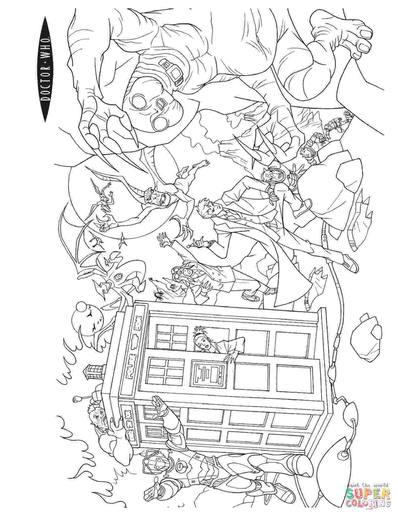 dr who pictures to colour doctor who coloring pages getcoloringpagescom colour pictures dr who to