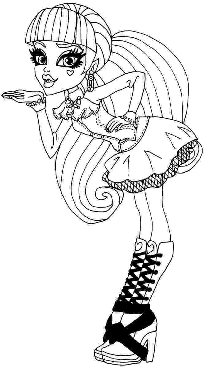 draculaura coloring pages monster high draculaura coloring pages getcoloringpagescom draculaura coloring pages
