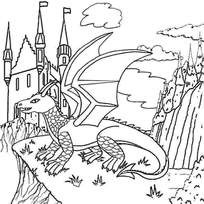 dragon coloring sheet how to draw a white dragon white dragon step by step coloring sheet dragon