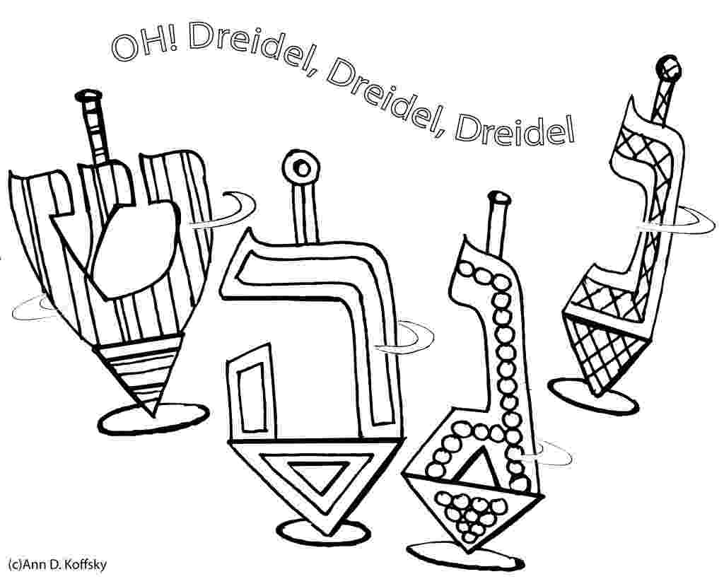 dreidel coloring pages free free printable hanukkah coloring pages for kids best pages coloring free dreidel