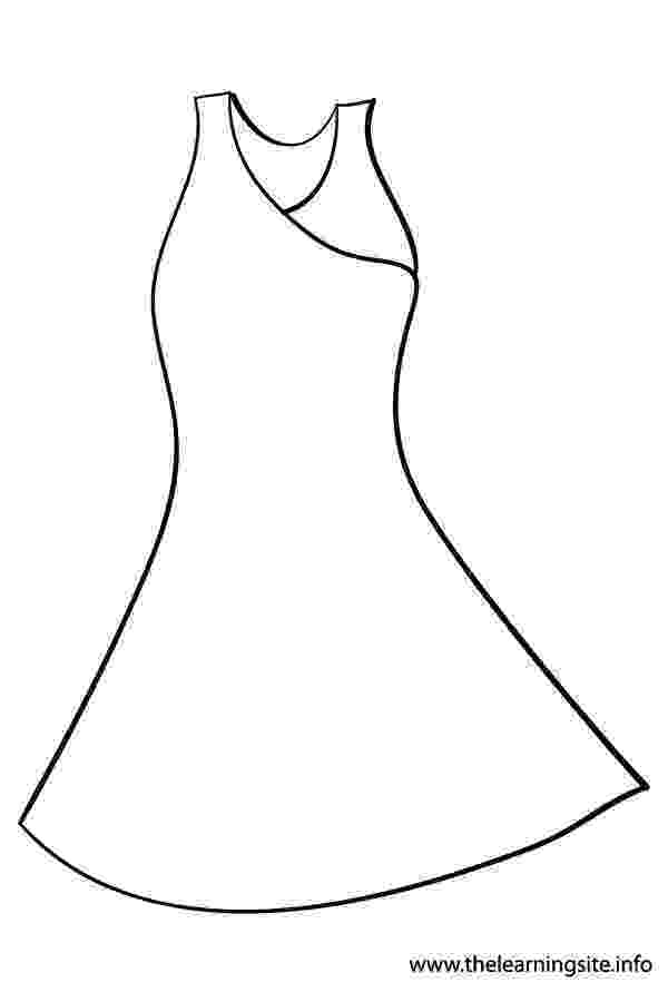 dress colouring pages dress coloring pages getcoloringpagescom pages dress colouring
