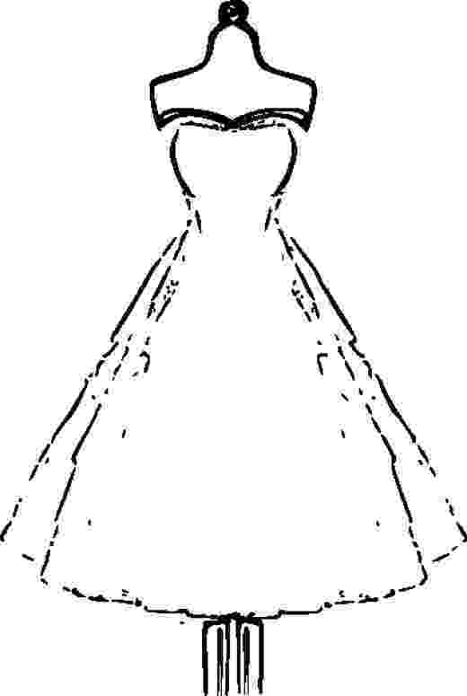 dress colouring pages dress lace coloring page for girls printable free pages dress colouring