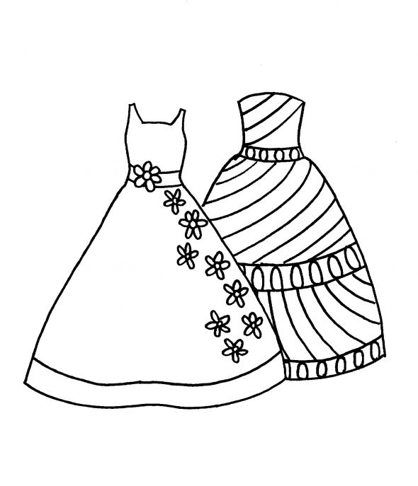 dress colouring pages fashion tips blog free fashion coloring pages dress colouring pages