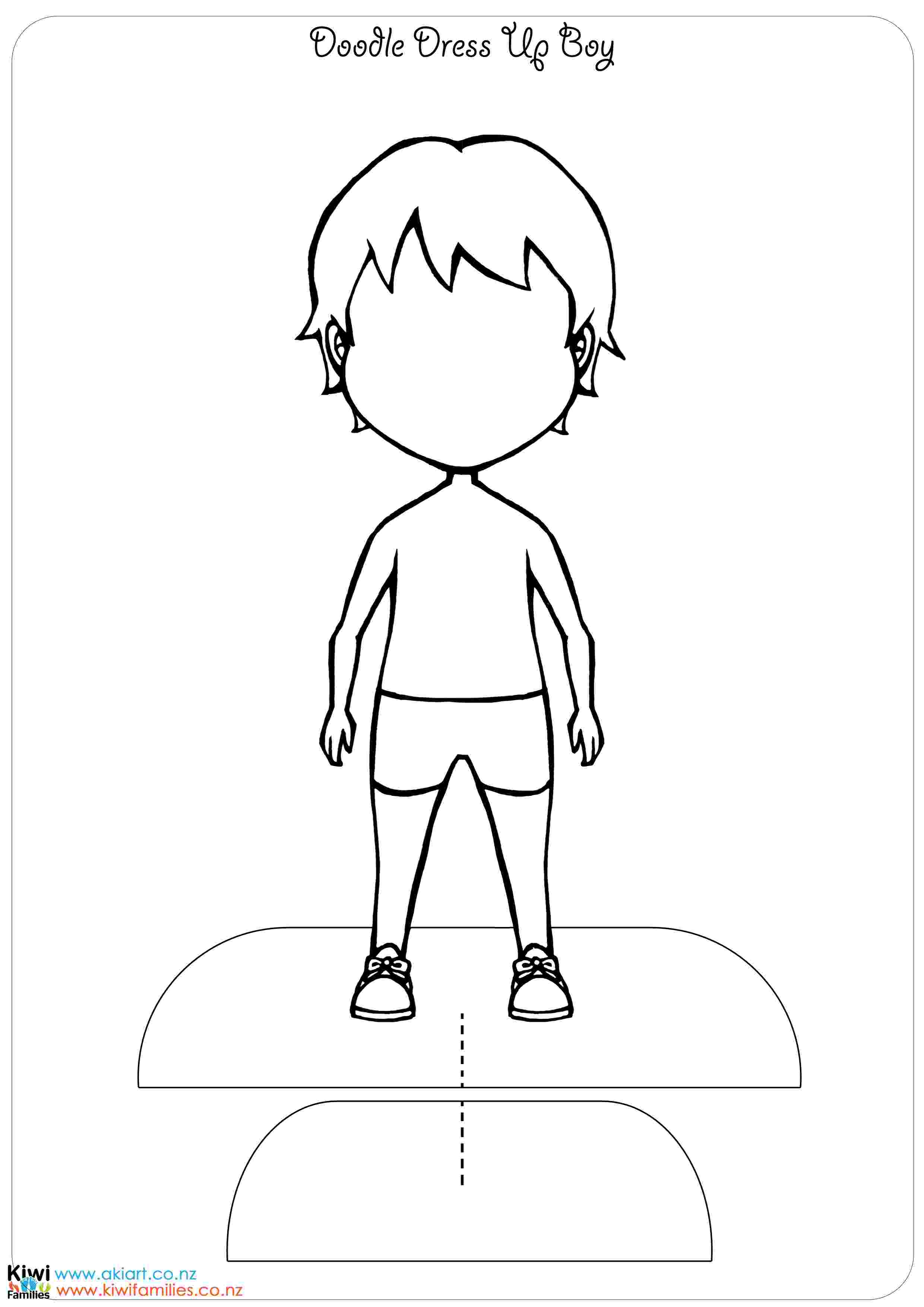dress up paper doll make your own paper dolls kiwi families up doll paper dress