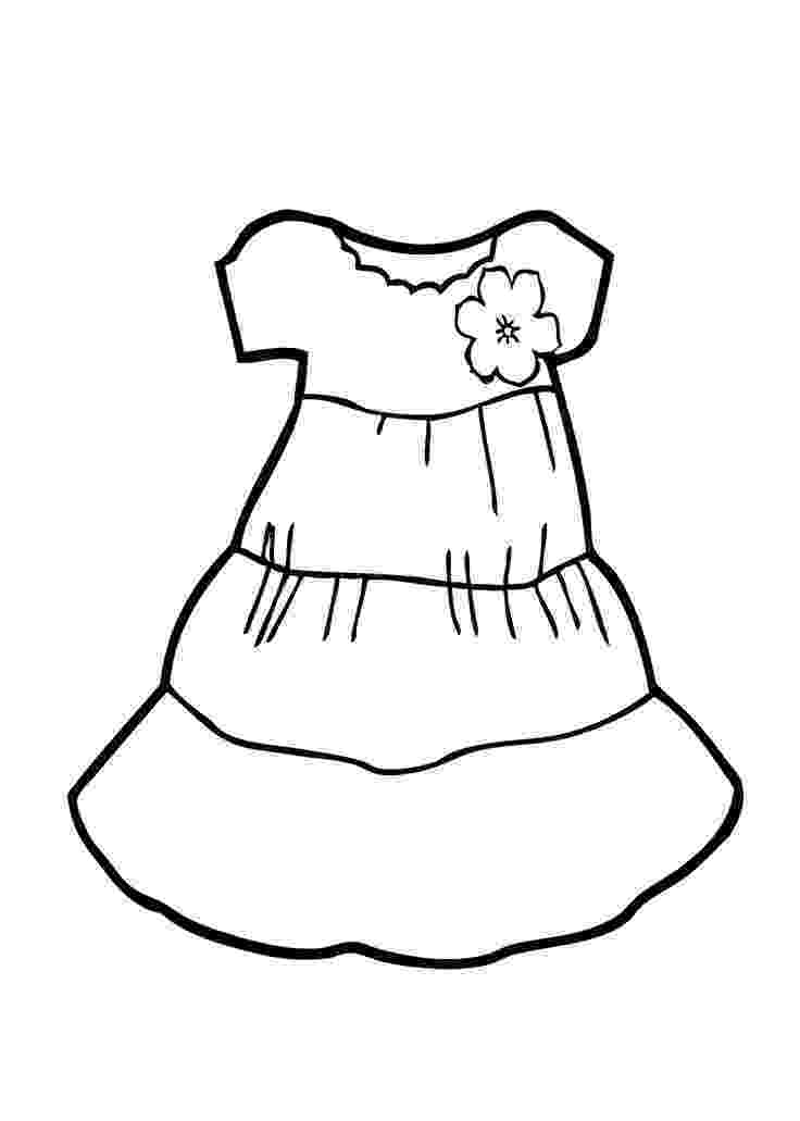 dresses coloring pages light dress coloring page for girls printable free pages dresses coloring
