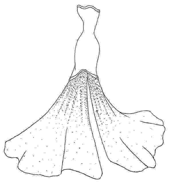 dresses coloring pages princess dress coloring pages elena reviews dresses pages coloring