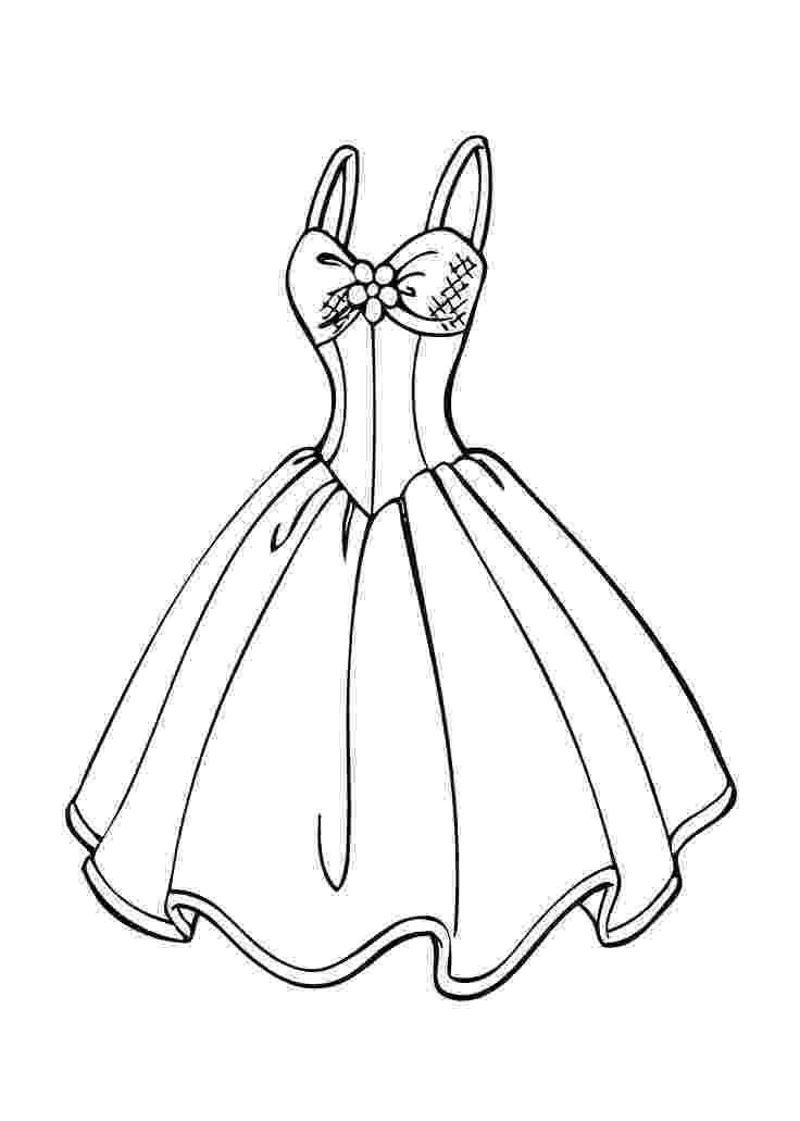 dresses coloring pages wedding dress coloring page for girls printable free dresses coloring pages