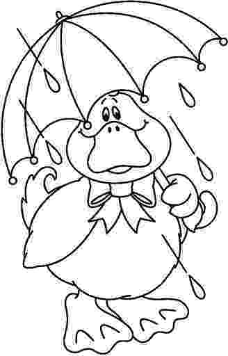 duck with umbrella joke of the day colouring page new bloggy cat nbc with umbrella duck