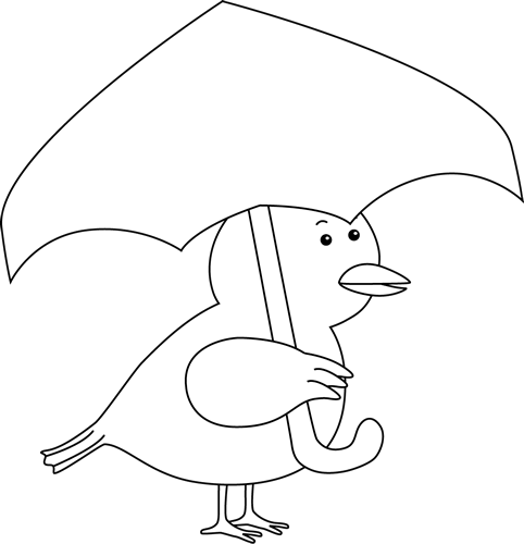 duck with umbrella rain coloring pages best coloring pages for kids duck umbrella with
