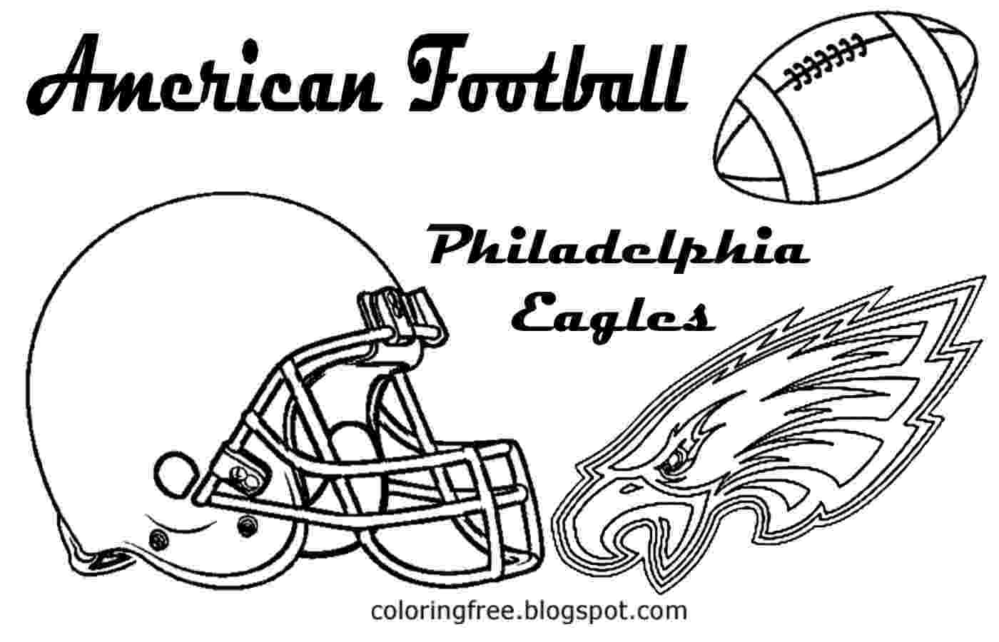eagles football coloring pages free coloring pages printable pictures to color kids pages coloring football eagles