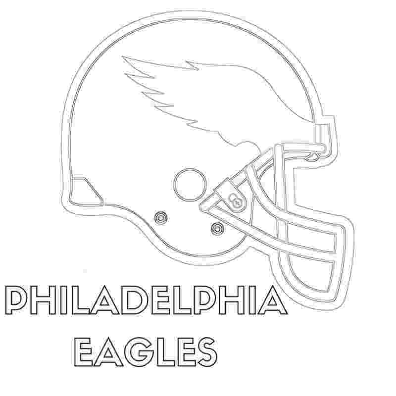 eagles football coloring pages philadelphia eagles helmet coloring page free printable pages football eagles coloring