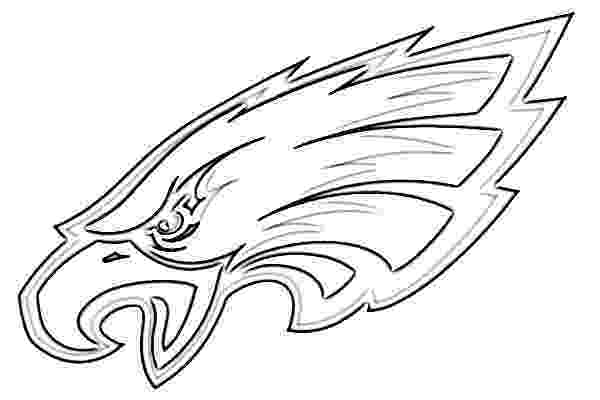 eagles football coloring pages philadelphia eagles logo sketch image sketch pages football eagles coloring